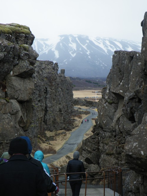 Þingvellir National Park, where Iceland's first parliament met in 930.