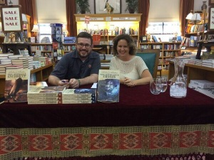 Author and agent: Talking books in Boulder.